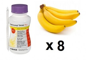 NUTRICOMP Drink Plus 8 szt. x 200 ml - banan/protein